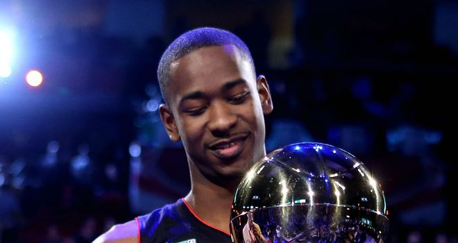 Terrence Ross: The Toronto Raptors star wins the NBA Slam Dunk title