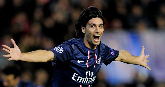 Javier Pastore: Grabbed the opening goal for PSG