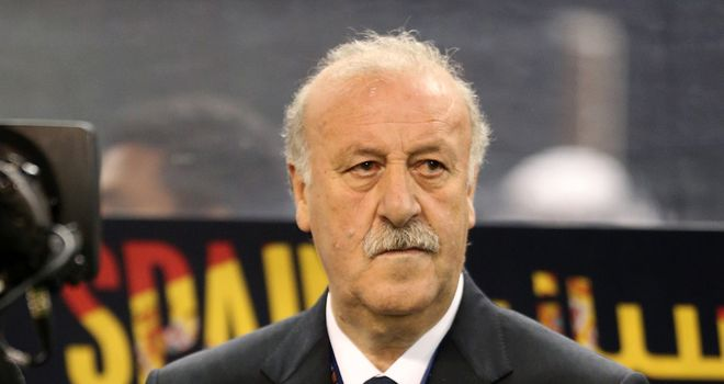 Vicente del Bosque: Warning for his Spain side