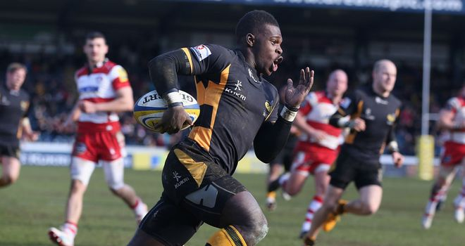 Christian Wade: Backed to score the first try for the third time this season