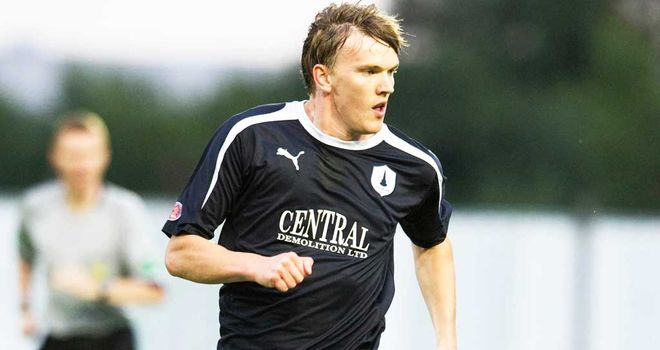 David Weatherston hit the post during Falkirk's victory.
