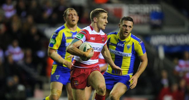 Sam Tomkins: Struggling to be fit for London game