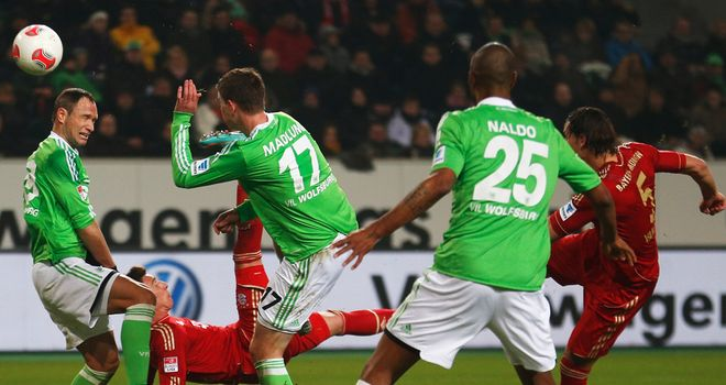 Mario Mandzukic: Opens the scoring against Wolfsburg