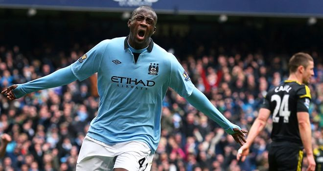 Yaya Toure: Has issued a rallying cry to Manchester City