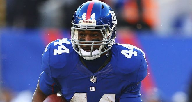 Ahmad Bradshaw: the tail-back was drafted by the Giants in the seventh round back in 2007