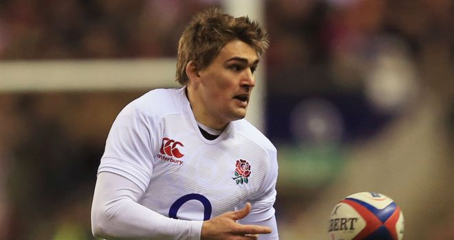 Toby Flood: Enthusiastic over New Zealand tour