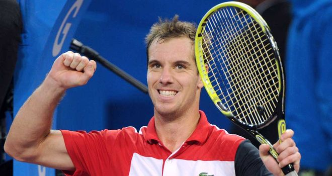 Richard Gasquet: In-form Frenchman wins in Montpellier