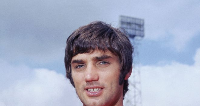George Best: Played in games against Real Madrid during his Manchester United career