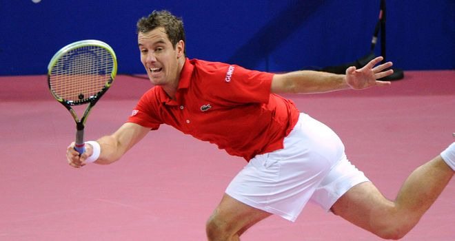 Richard Gasquet: Seeking a ninth career title in Montpellier