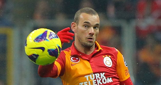 Wesley Sneijder: Ready for 'special' Mourinho reunion