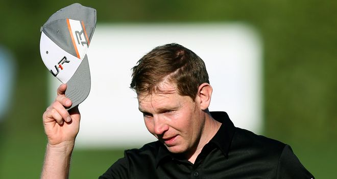Stephen Gallacher bagged five eagles during an incredible four days in Dubai