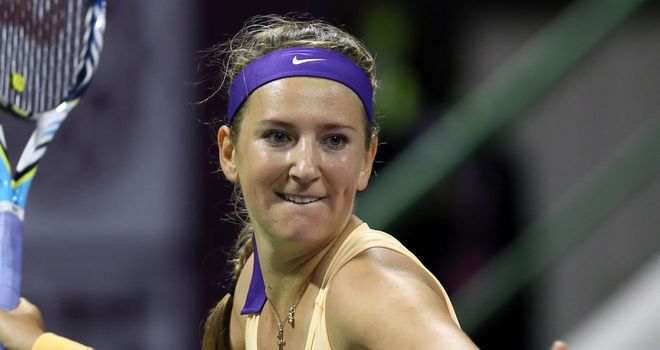 Victoria Azarenka: Returned to action with a win