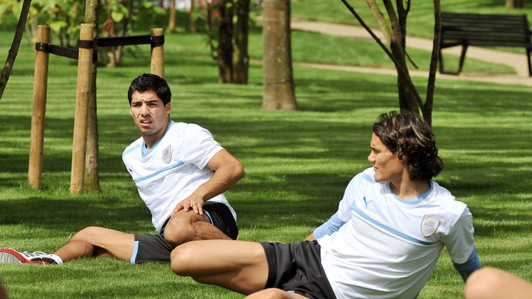 Suarez and Cavani: City targets