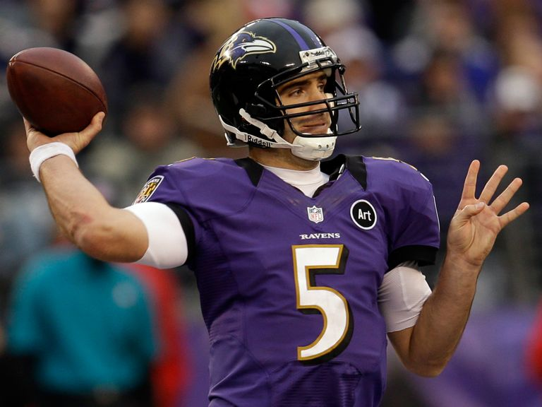 Joe Flacco: Takes his Ravens on the road to Denver