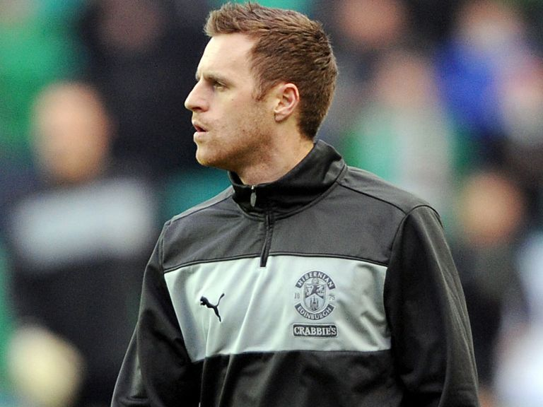 Alan Maybury: Wants to stay on at Easter Road