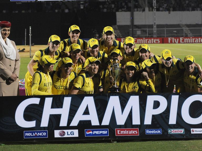 Australia: Have won the World Cup for the sixth time