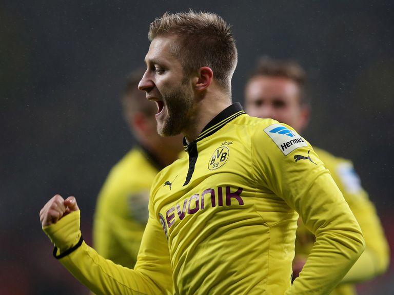 Jakub Blaszczykowski slotted home Dortmund's winner.