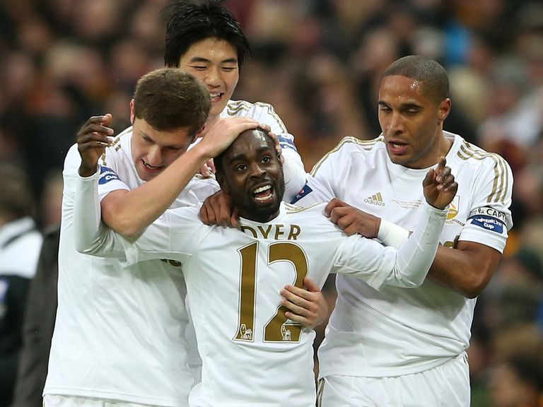 Nathan Dyer: Impressed with last four managers at Swansea