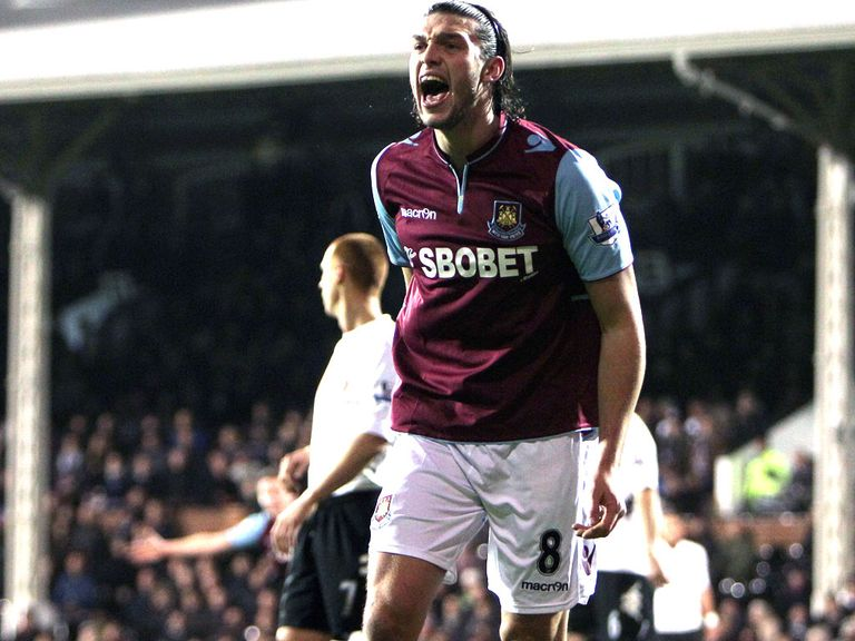 Andy Carroll: Netted against Swansea