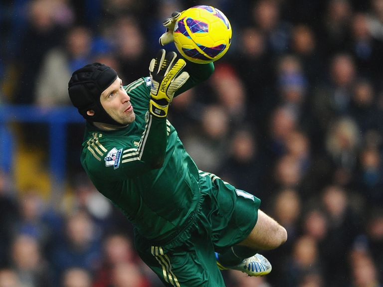Petr Cech: Pleased with performance against West Brom