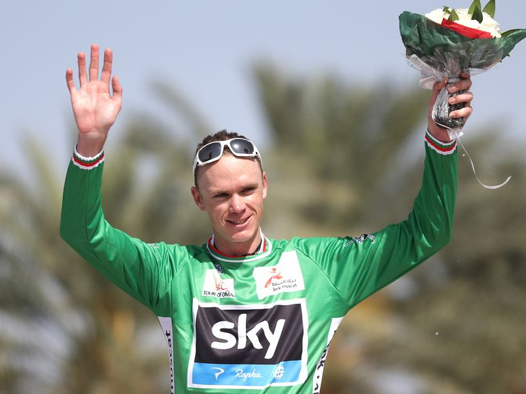 Chris Froome: Won the Tour of Oman