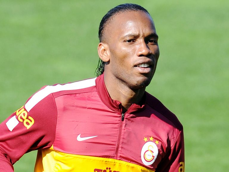 Didier Drogba: On target for Galatasaray