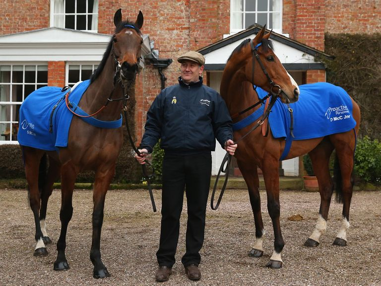 "Peddlers Cross (left): ""His work is very special"""