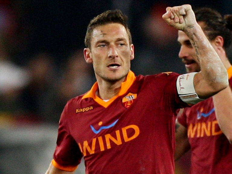 Francesco Totti: May be set for final season with Roma