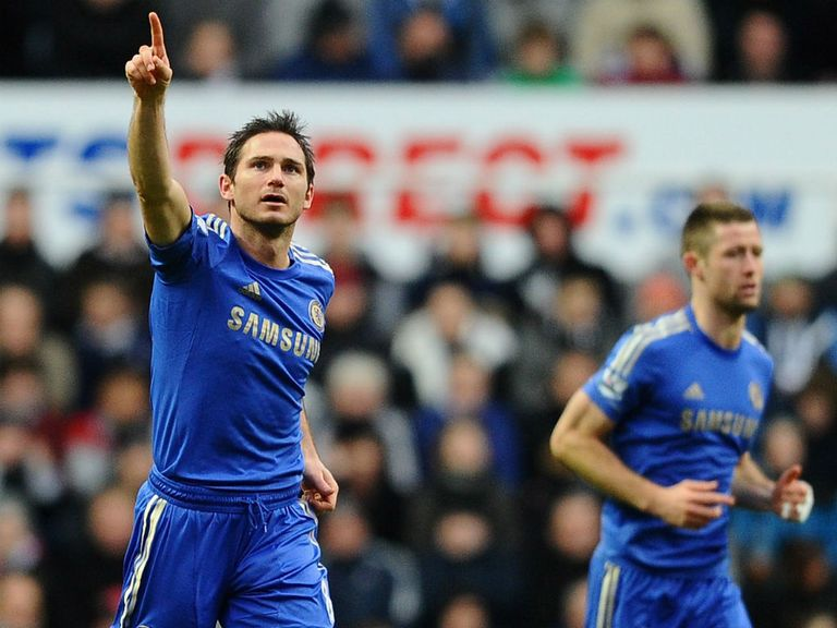 Frank Lampard: In great form for Chelsea