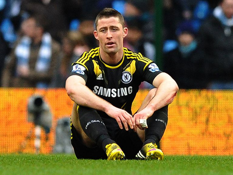 Gary Cahill: Ruled out by injury