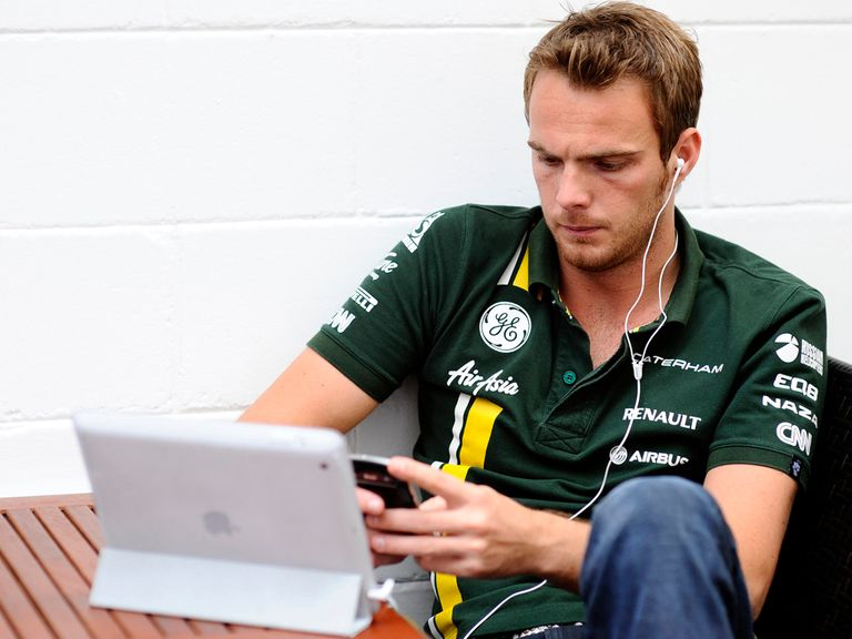 Van der Garde: Will drive alongside Pic