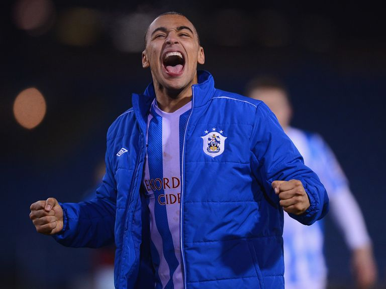 James Vaughan: Has joined Huddersfield on a three-year contract