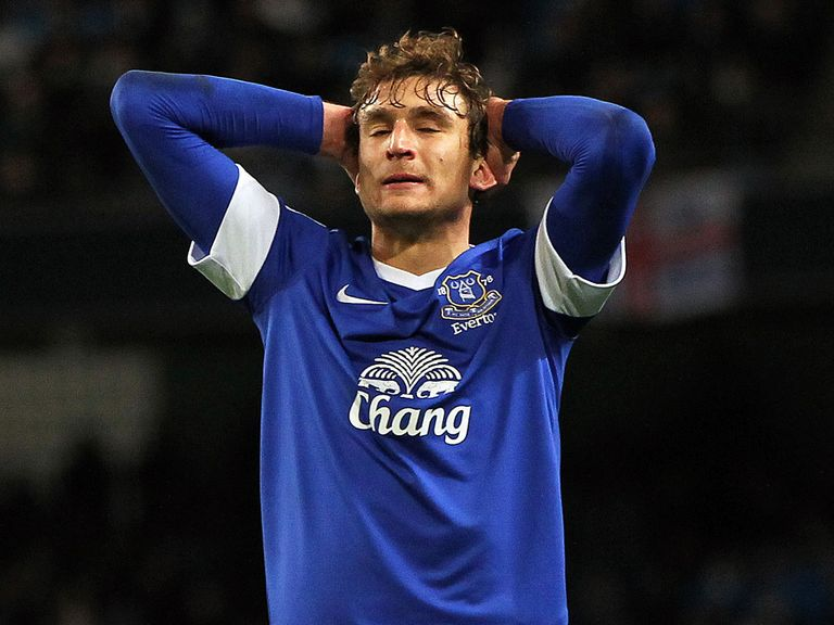 Nikica Jelavic: Nine games without a goal