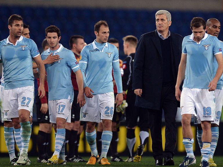 Lazio overcame Borussia Monchengladbach 5-3 on aggregate