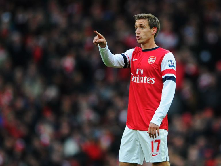 Nacho Monreal: Made his debut against Stoke