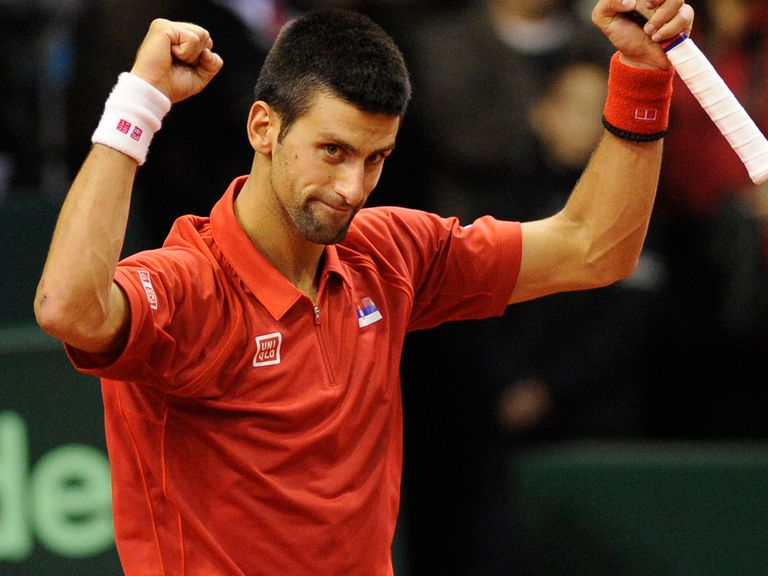 Novak Djokovic: Helped Serbia progress