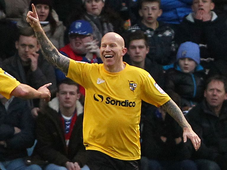 Lee Hughes: On target in Vale's win over AFC Wimbledon