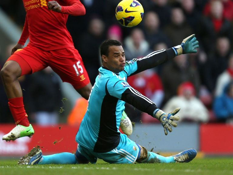 Michel Vorm: Wants a more physical approach