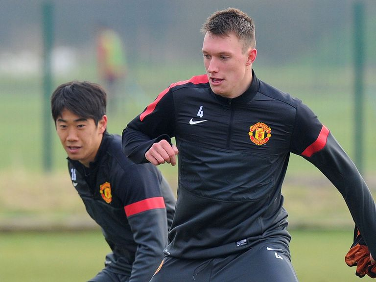 Phil Jones: Trained on Tuesday morning