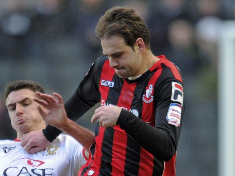Brett Pitman: Scored two goals for Bournemouth