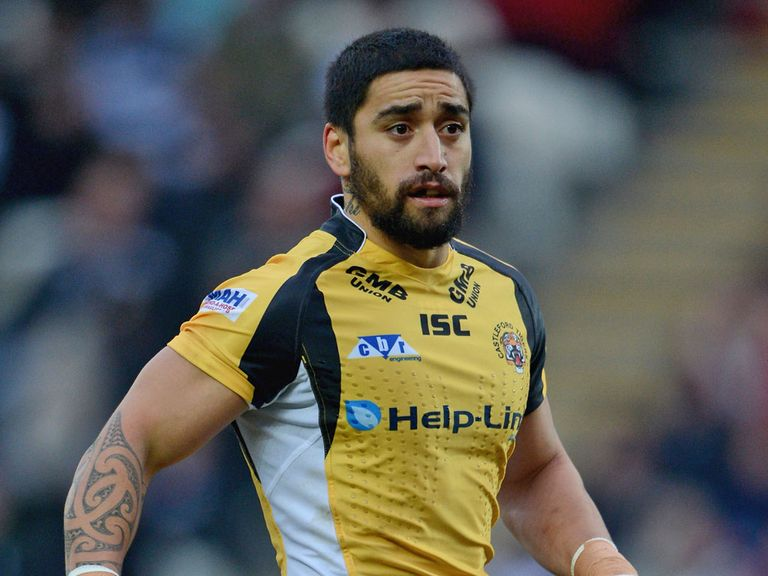 Rangi Chase: Charged by the RFL's match-review panel