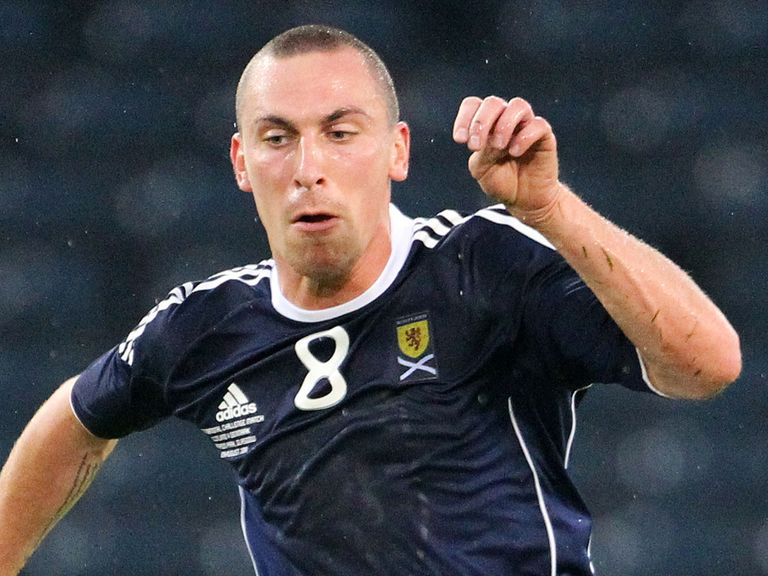 Scott Brown: Back in the Scotland squad