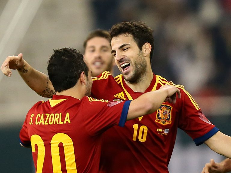 Cesc Fabregas: Preparing for the Confederations Cup