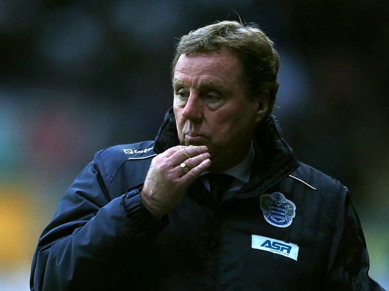 Harry Redknapp: Won't throw in the towel