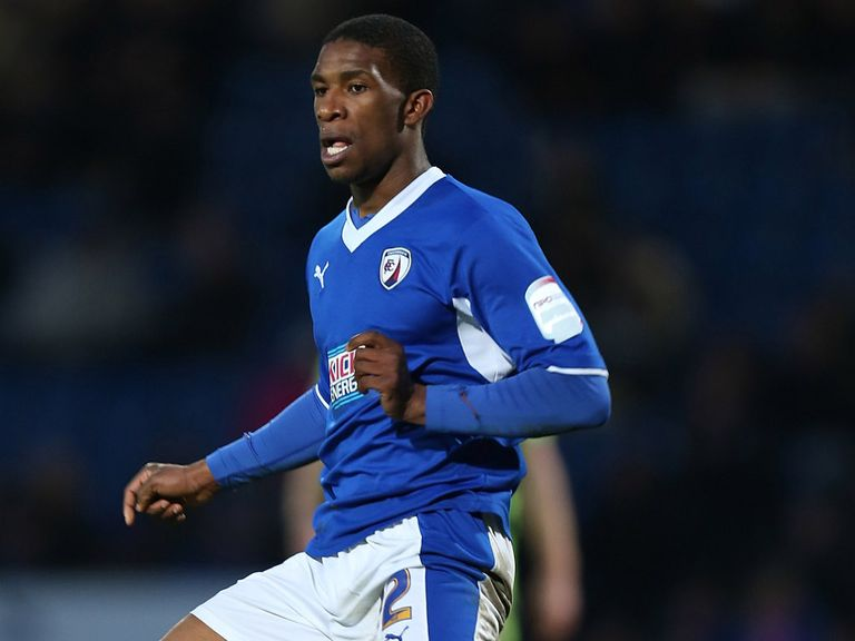 Tendayi Darikwa: On target for Chesterfield