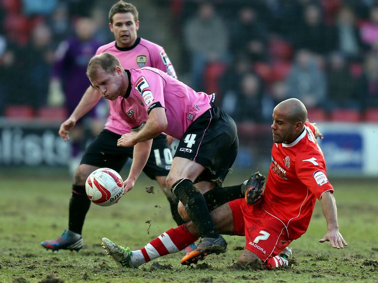 Notts County drew 1-1 at Walsall.