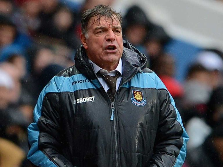 Sam Allardyce: Does not fear for his job at West Ham