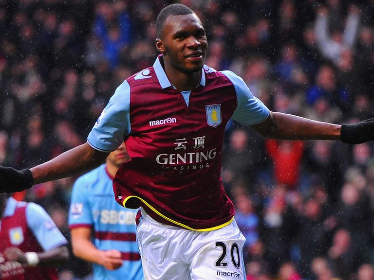 Christian Benteke: Has scored 42 per cent of Villa's league goals