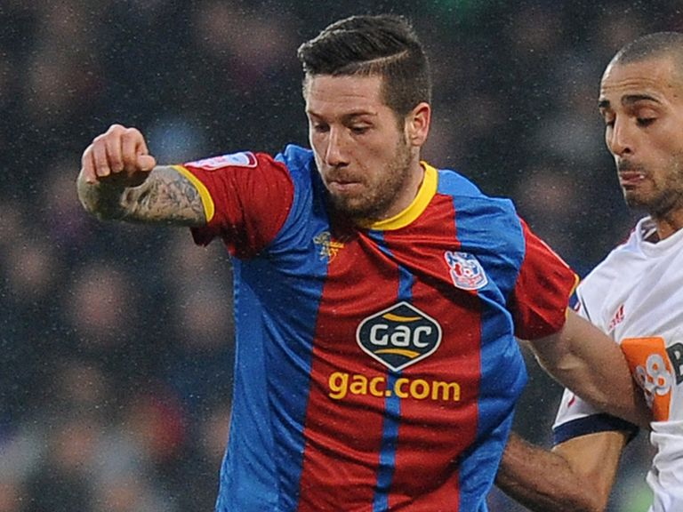 Jacob Butterfield: Loan spell at Crystal Palace extended until March