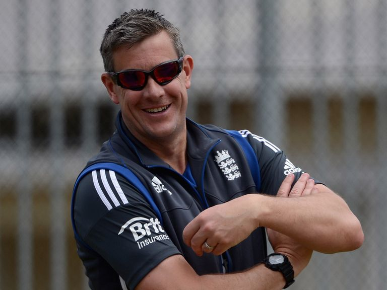 Ashley Giles: Full of praise for England